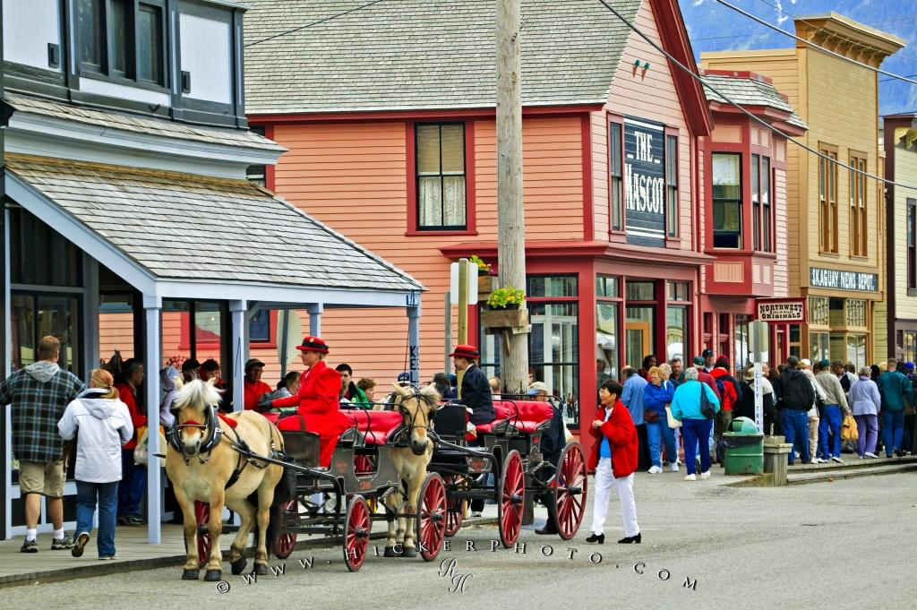 Photo Alaska Cruise Ship Tourism Skagway