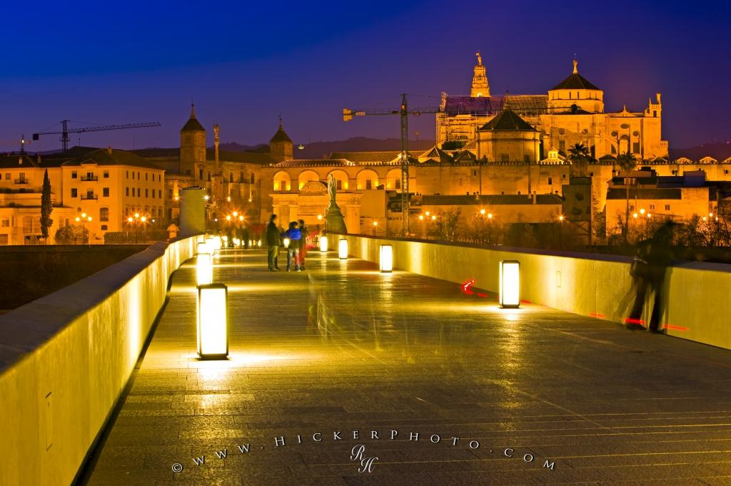 Ancient Puente Romano The Roman Bridge Cordoba Andalucia
