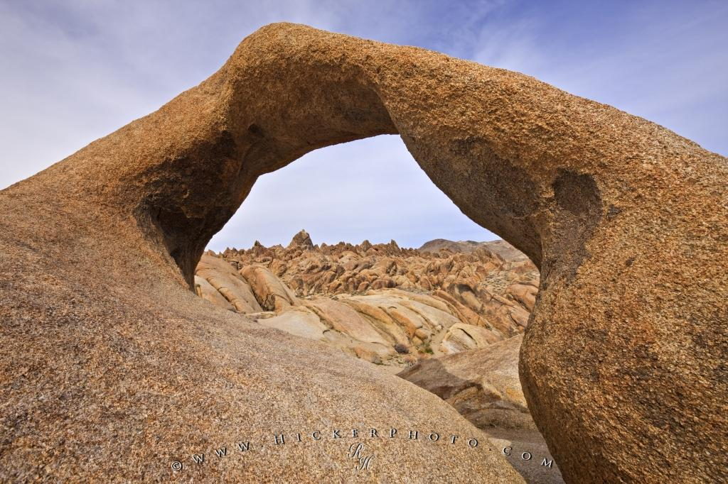 Arch Rock Formation Alabama Hills Landscape