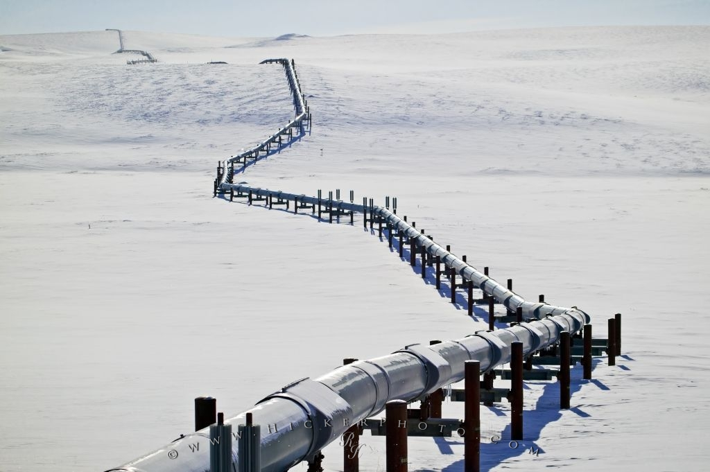 Arctic Oil Pipeline Alaska