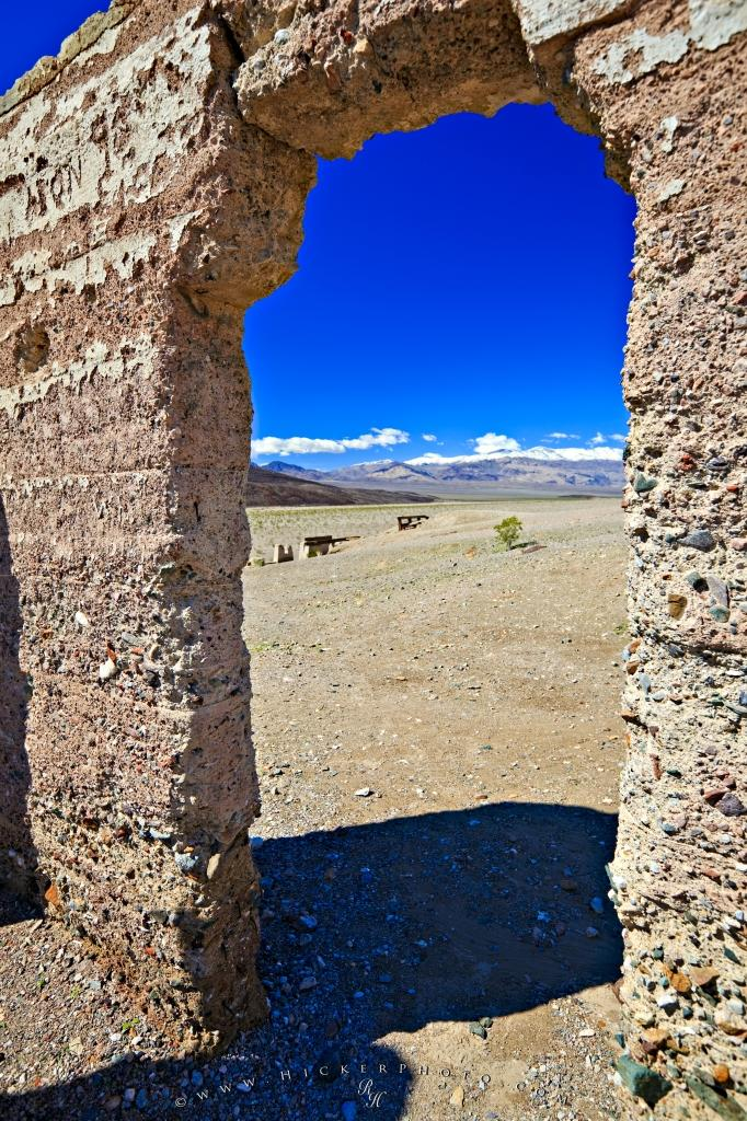 Ashford Mill Ruins Death Valley National Park