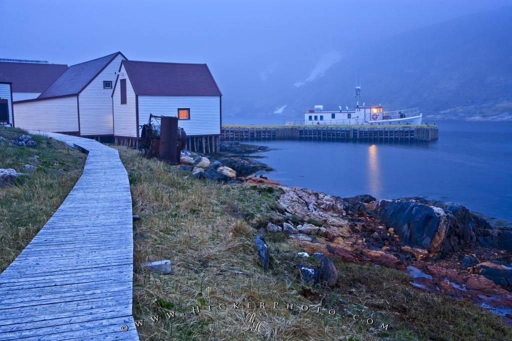 Historic Fishing Village Battle Harbour Labrador