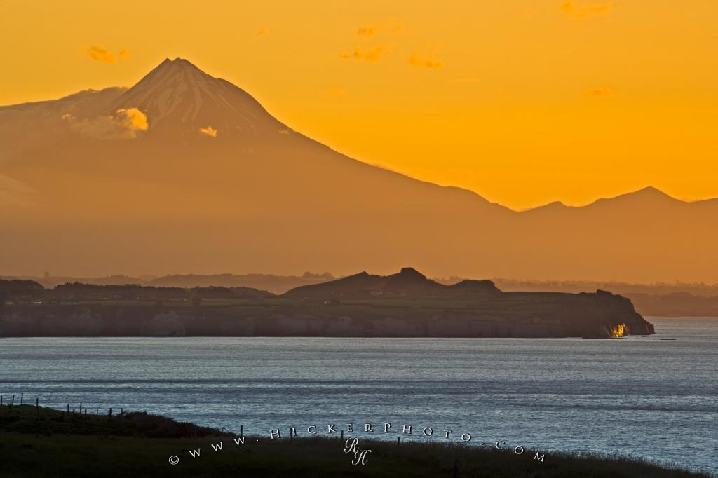 Beautiful Mount Taranaki Coastal Scenery West Coast North Island NZ