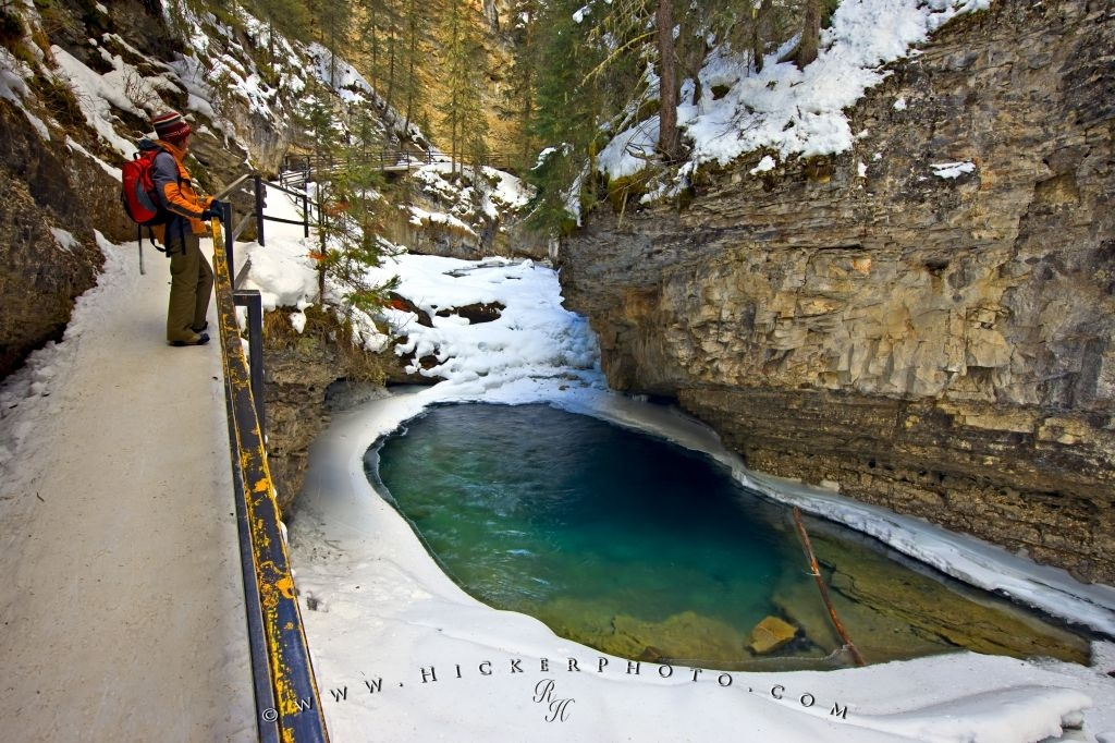 Beautiful Scenic Canyon Pool Tourist Attraction