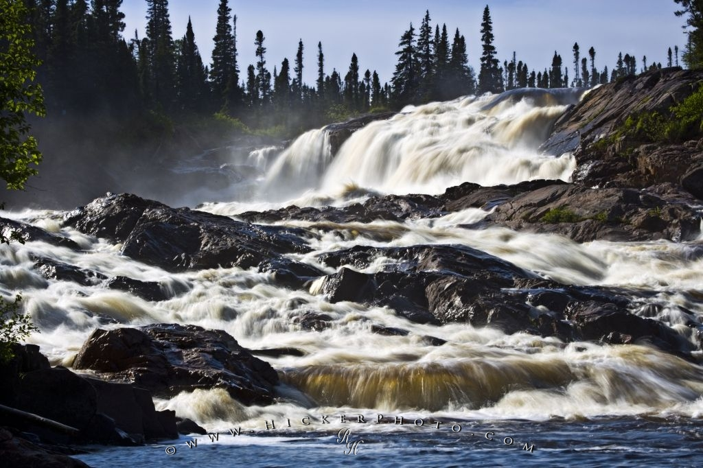 Beautiful White Bear River Falls Southern Labrador