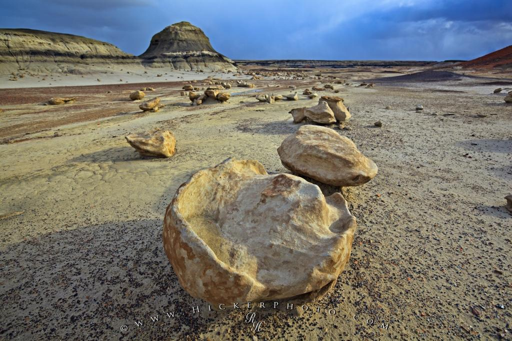 Bisti landscape Rocks