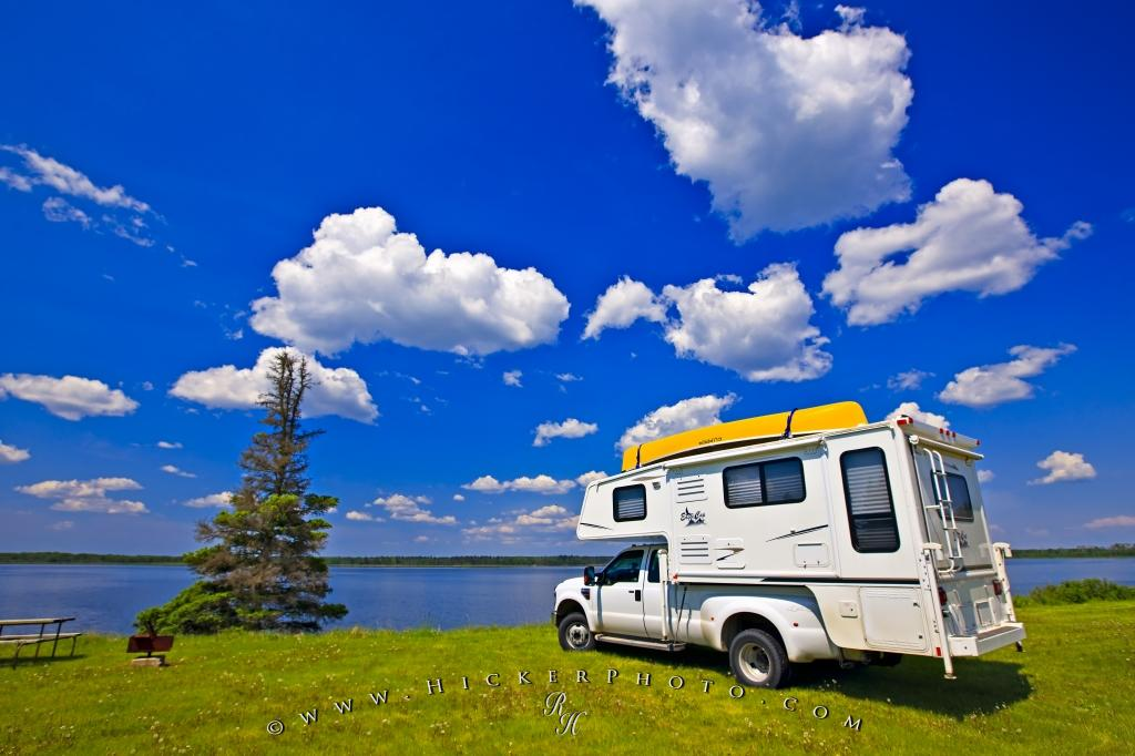 Canadian Wilderness Camping Vacation Tourist Attraction