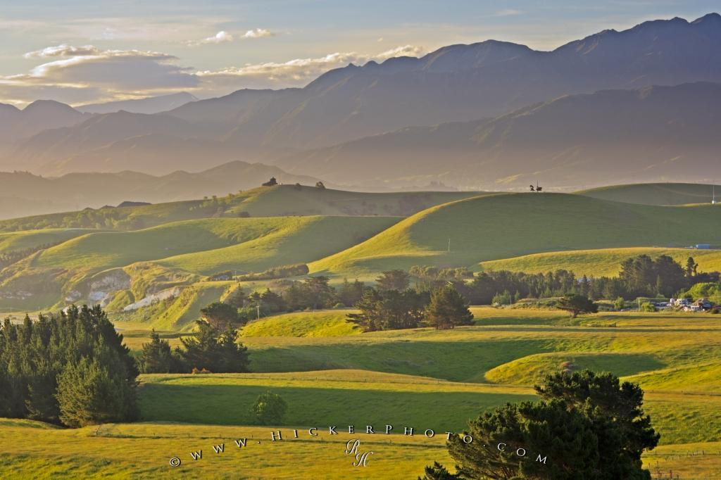 canterbury landscape new zealand photo information