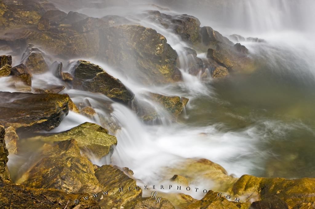 Photo Cascading Waterfall Water Motion Picture