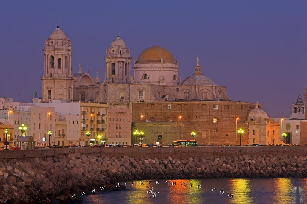 Catedral Nueva City Of Cadiz Andalusia Spain  Photo, Information