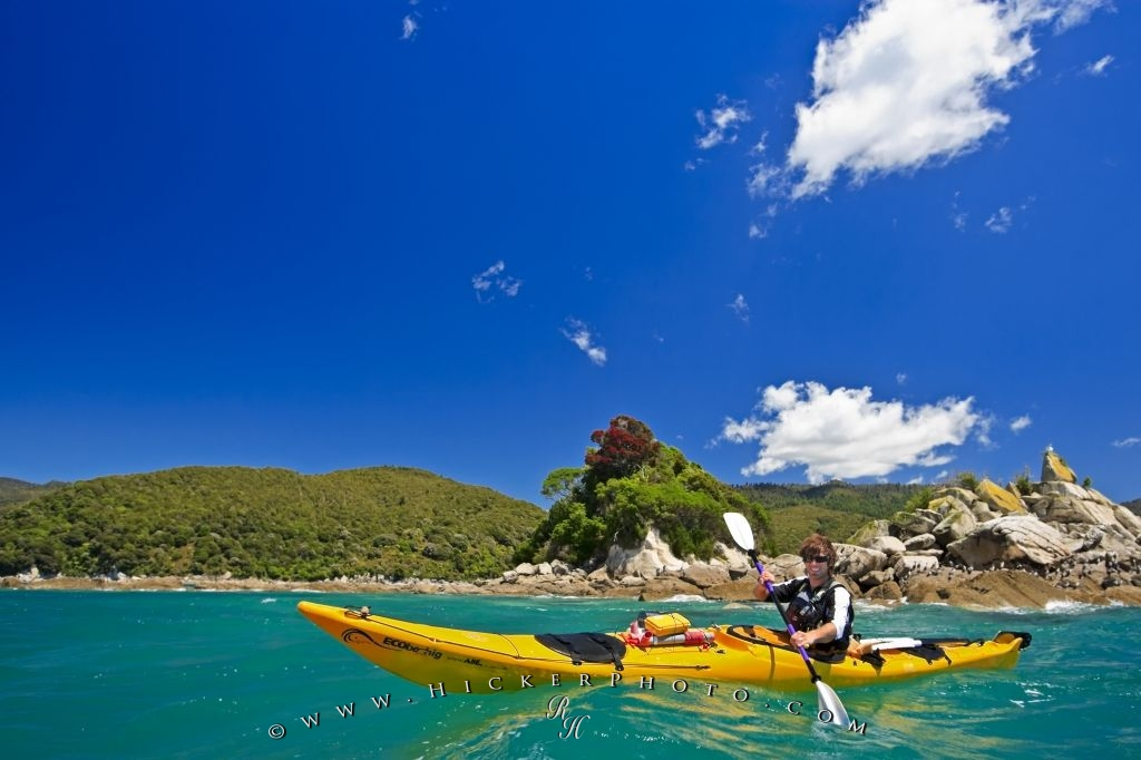 Coastal Kayaking Abel Tasman National Park New Zealand