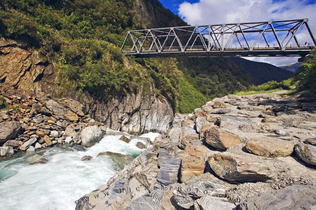 Photo Gates of Haast South Island New Zealand