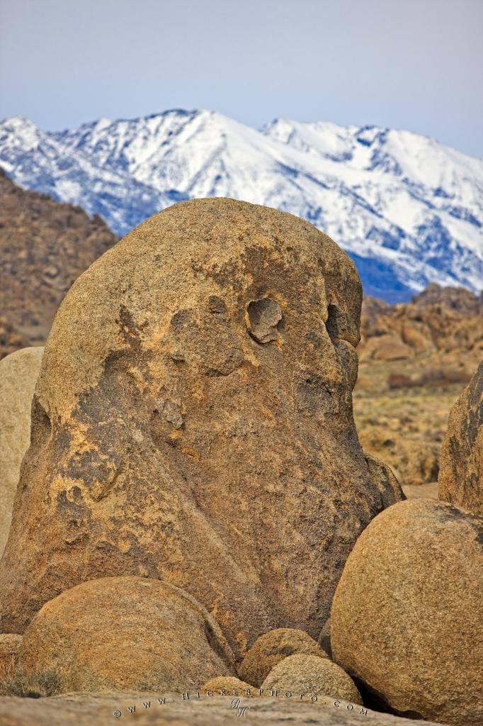 Friendly Ghost Alabama Hills California
