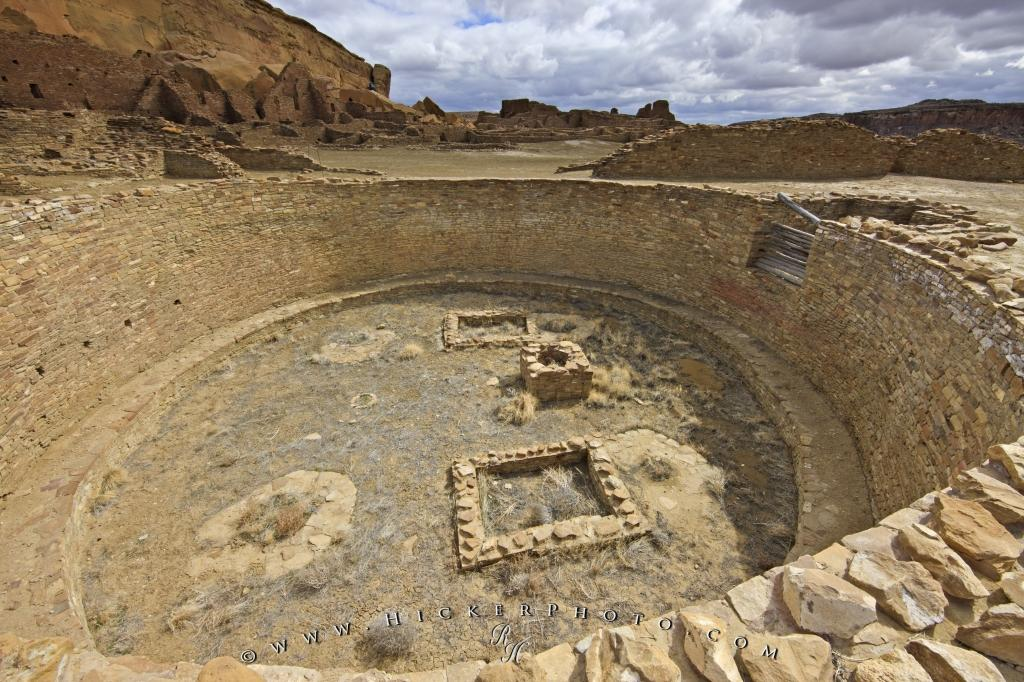 Great Kiva Pueblo Bonito