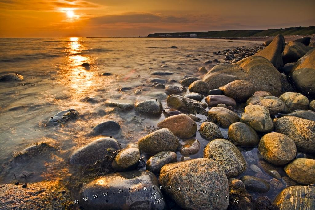 Green Point Sunset Gros Morne National Park Newfoundland