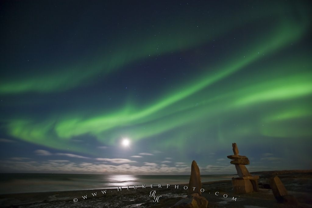 Hudson Bay Northern Lights Churchill Manitoba