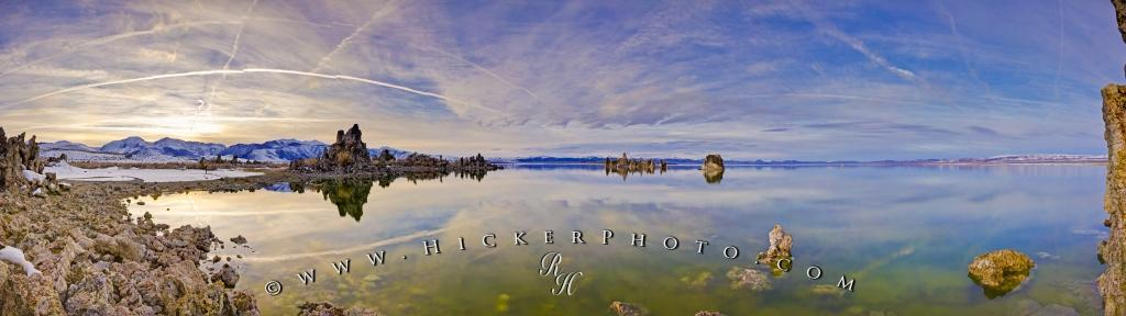 Mono Lake Tufa SNR Scenery Panoramic