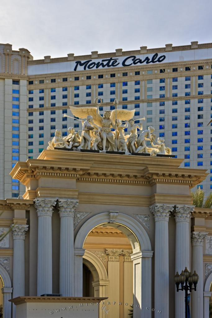 Monte Carlo Hotel Las Vegas >> Facade Monte Carlo Hotel And Casino Photo Information