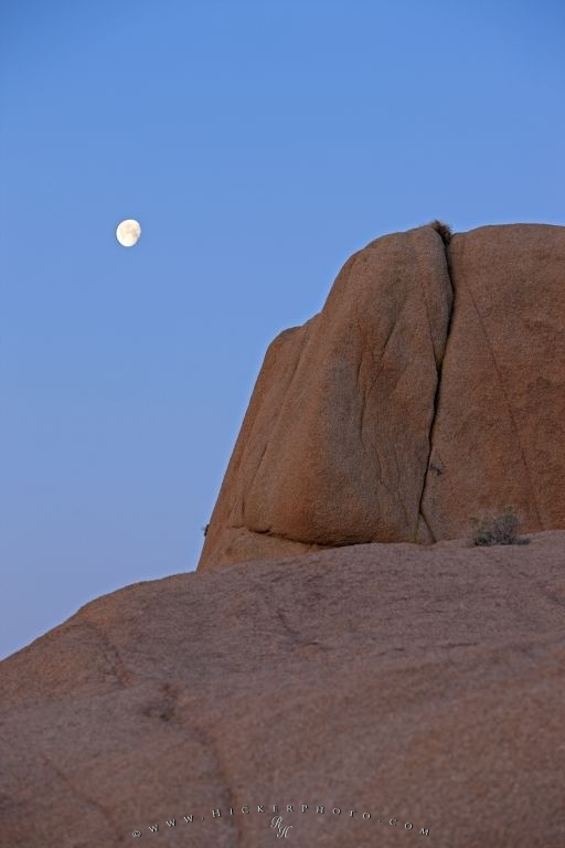 Moon Rock Formation Joshua Tree National Park