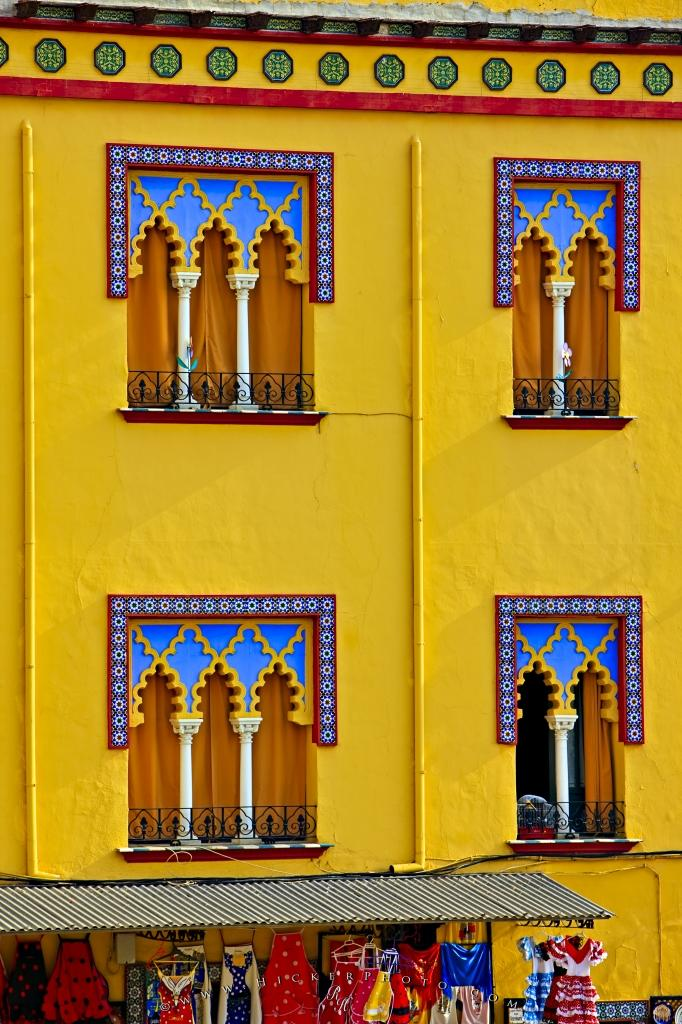 Typical Moorish Architecture Details Facade