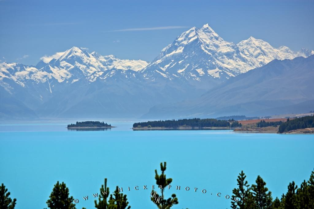 New Zealand Scenery Mt Cook Lake Pukaki