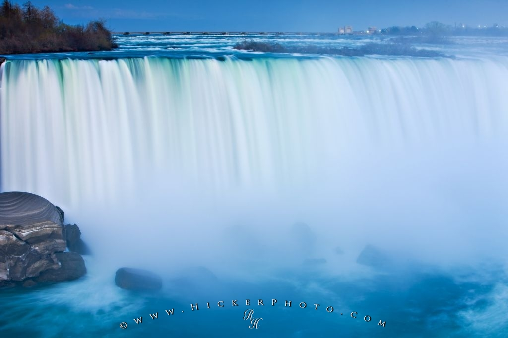 Niagara Falls Waterfall Twilight