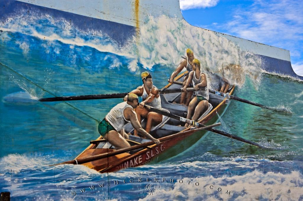 Opunake Wall Mural NZ