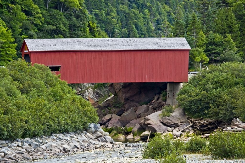 Point Wolfe River Covered Bridge New Brunswick