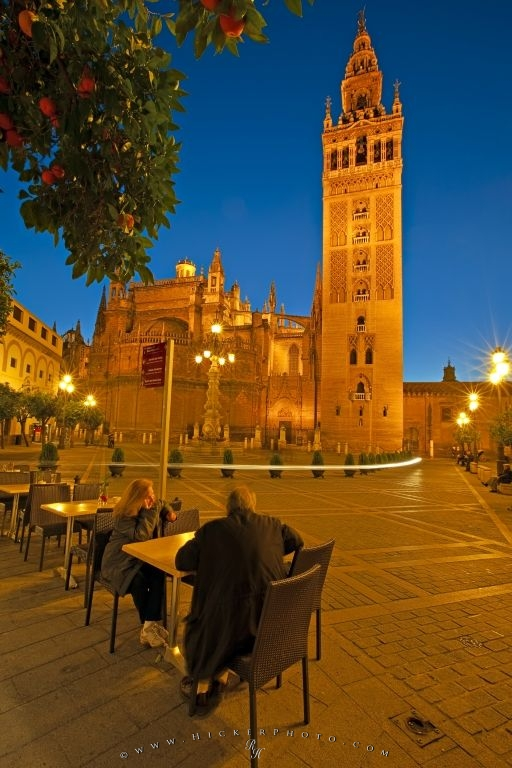 Photo Seville Cathedral La Giralda Sevilla Andalusia Spain