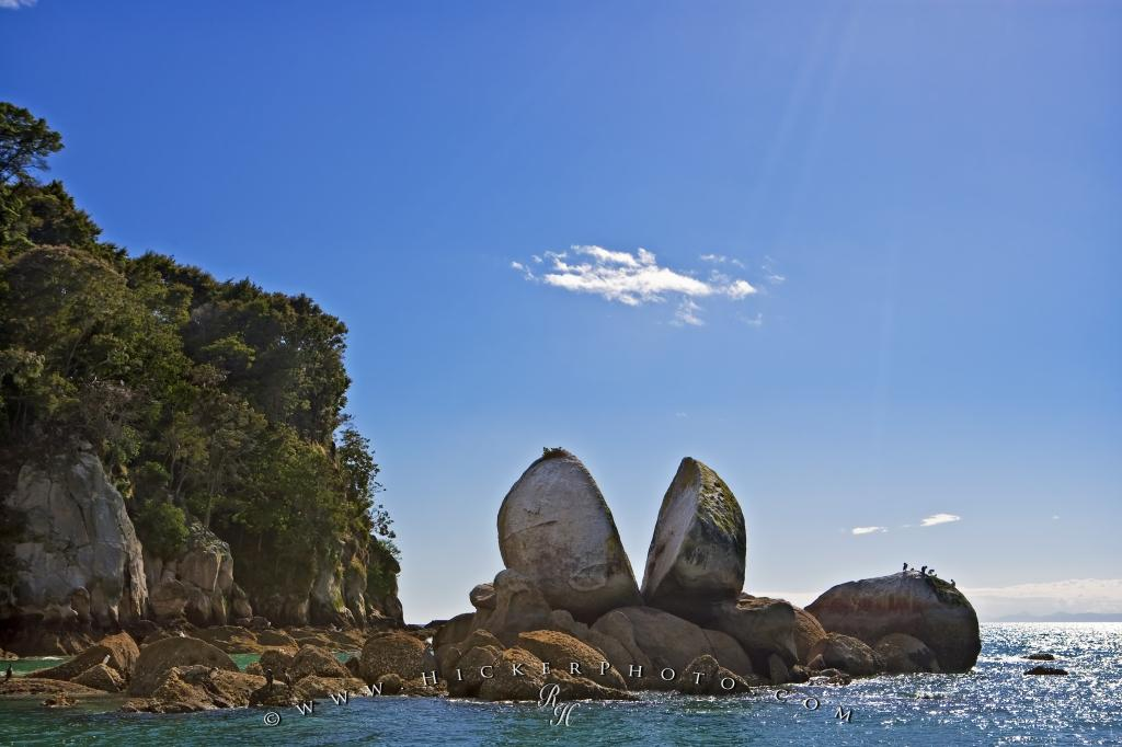 Split Apple Rock South Island