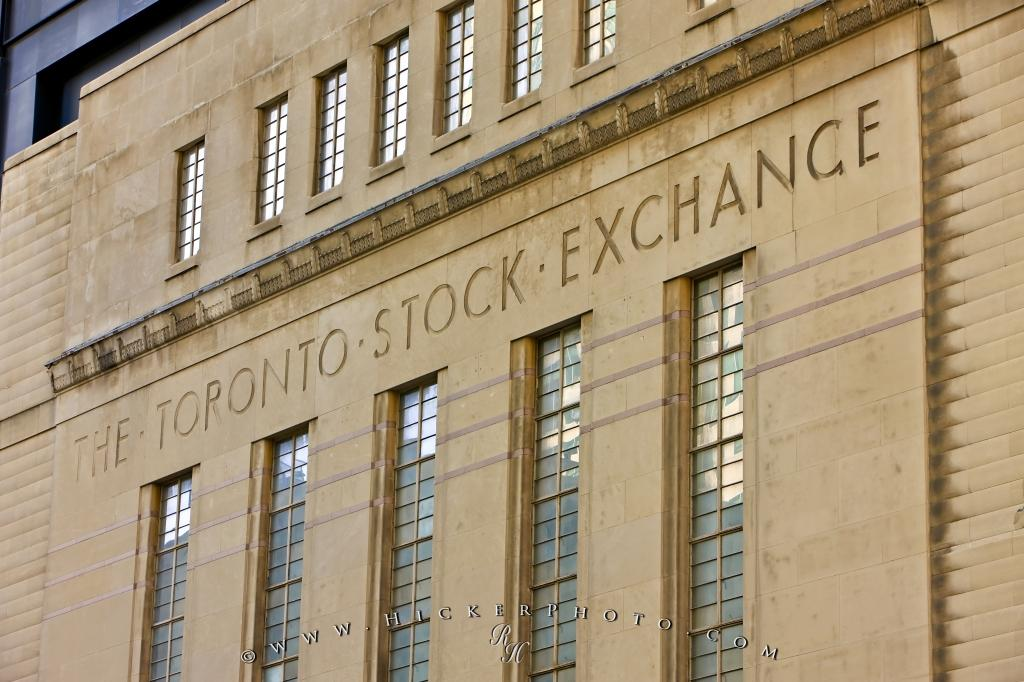 Art Deco Facade Former Toronto Stock Exchange