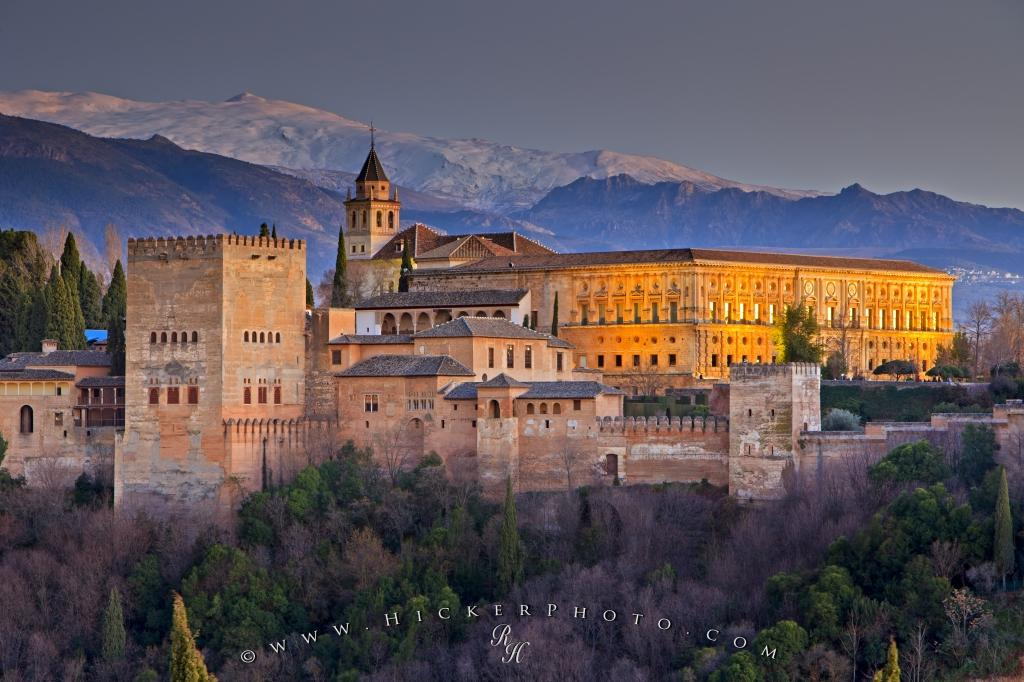 Travel Destination City Of Granada Andalusia Spain  Photo