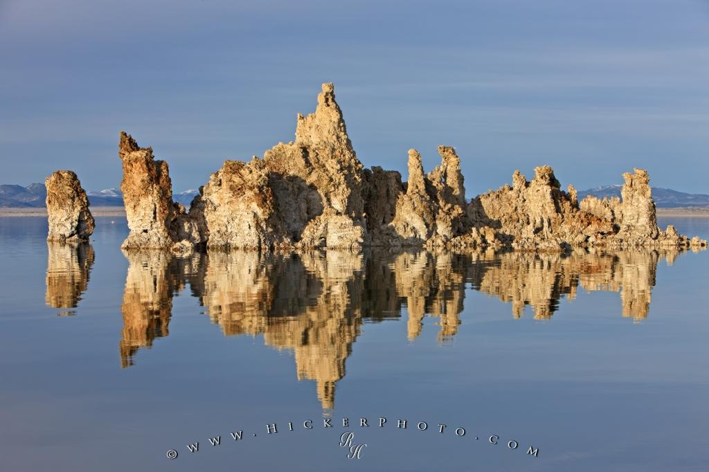 Lake Tufa Towers Rock Formations