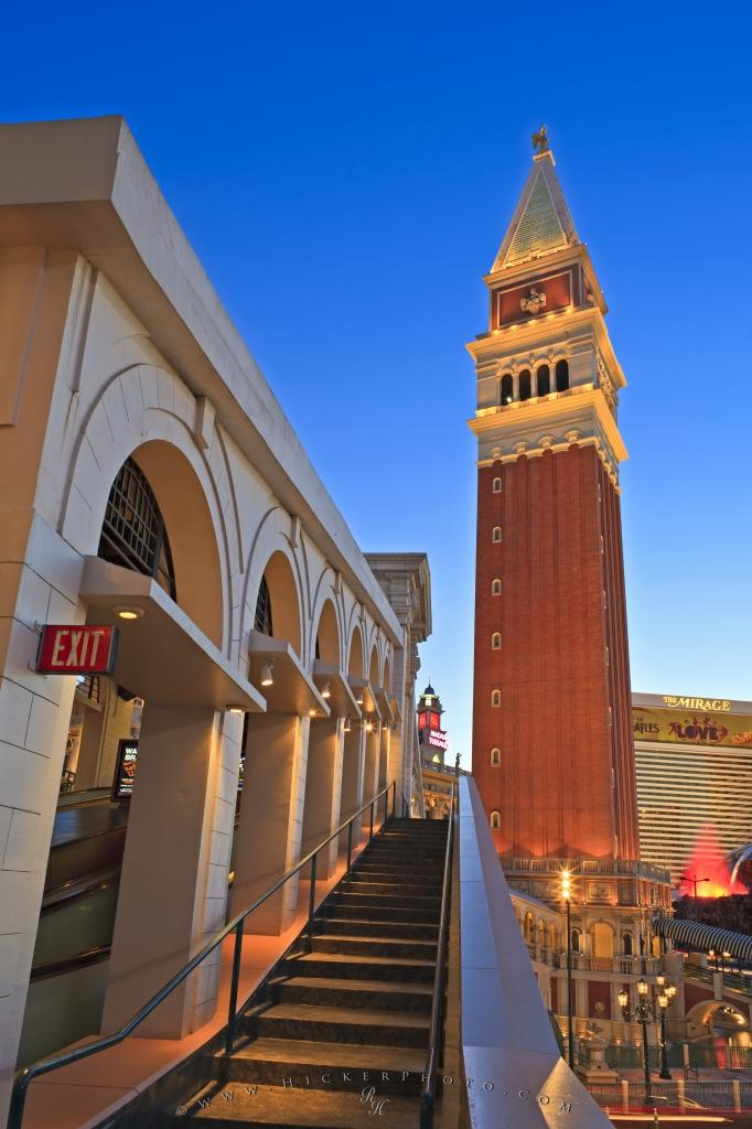 Free Wallpaper: Venetian Twilight Picture LV Nevada