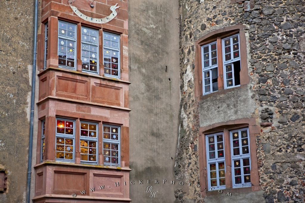 Windows Ronneburg Castle Germany