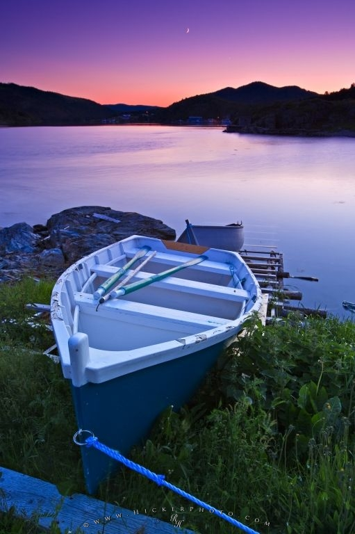 Wooden Fishing Boat Newfoundland