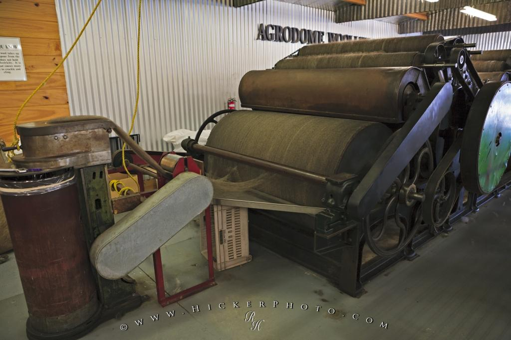 Wool Carding Machine Agrodome