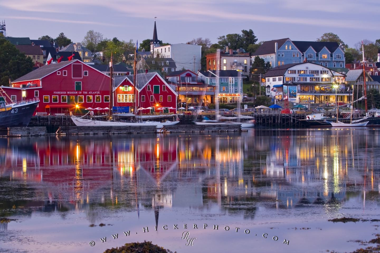 free wallpaper background: historic lunenburg nova scotia canada