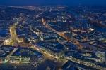 photo of Frankfurt Aerial Dusk Picture