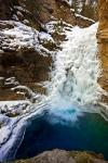 photo of Lower Falls Johnston Canyon Banff National Park Alberta Canada