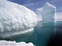 Clear Water Giant Iceberg Photo