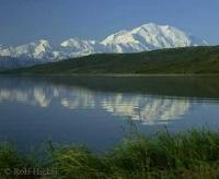 Stock Photo of Mount McKinley in Denali National Park, Alaska