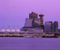 Stock Photo of Vancouver Skylines in British Columbia