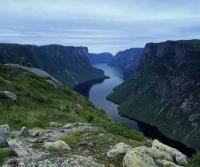 Photo of Gros Morne National and Western Brook Pond a geological wonder.