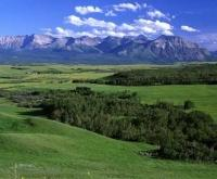 This area in southern Alberta, which is home to Waterton Lakes National Park is also part of the canadian Rocky Mountains