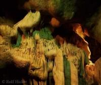 Stock photo of the tourist attraction cango caves in South africa
