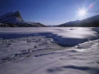 Snow pictures in Alaska's Brooks Mountain Range will give a you an awesome Arctic memory.