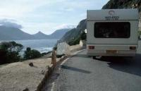 Chapmans Peak Drive Camper Vacation