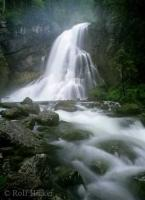 Gollinger Waterfall in Austria, an european vacation destination