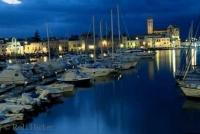 The romantic harbor of Trani in Bari, Apulia, Italy